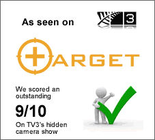 We featured on TV3's Target program and we received the highest score of 9/10 and the fantastic comment that our carpet cleaning service is great value for ...